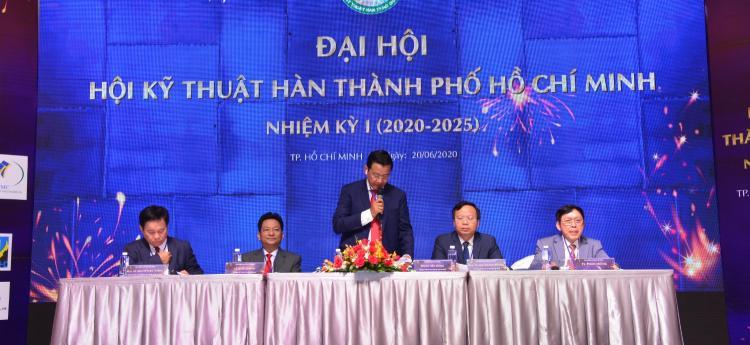 ĐẠI HỘI HỘI KỸ THUẬT HÀN TP HỒ CHÍ MINH - NHIỆM KỲ I (2020 -2025)