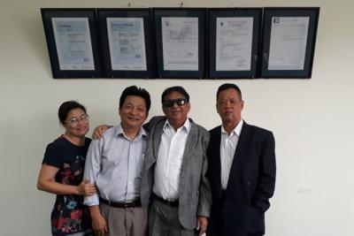 13/07/2018: Khách hàng Mauritious thăm Công ty CP NAHAVIWEL