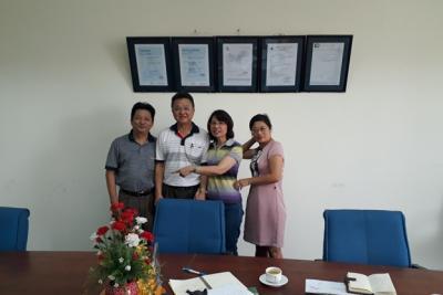 26/05/2018: Khách hàng Malayxia thăm Công ty Nahaviwel