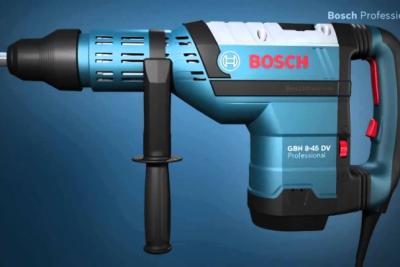 Hướng dẫn sử dụng cơ bản máy khoan bê tông Bosch