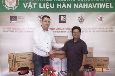 Nahaviwel hợp tác phát triển cùng hãng Kjellberg