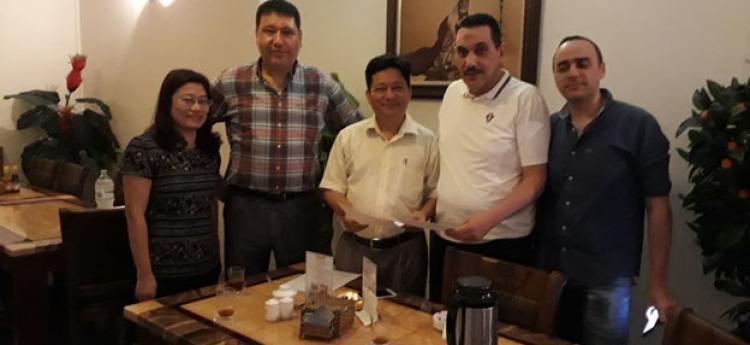 Lễ ký kết hợp đồng độc quyền phân phối Vật liệu hàn NAHAVIWEL tại Aicap