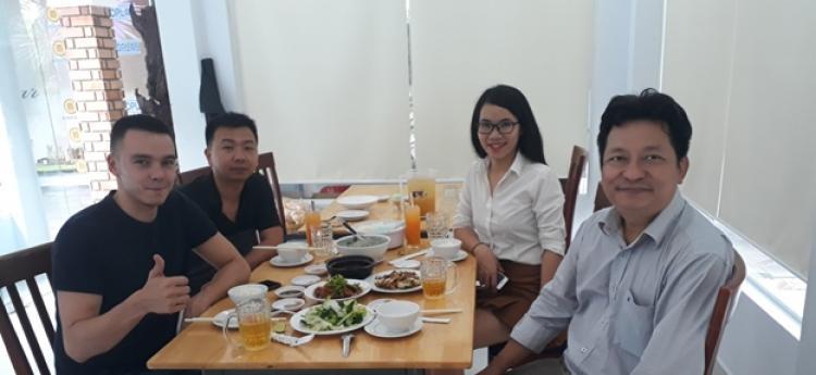 Russian Customer came visit Nahaviwel factory
