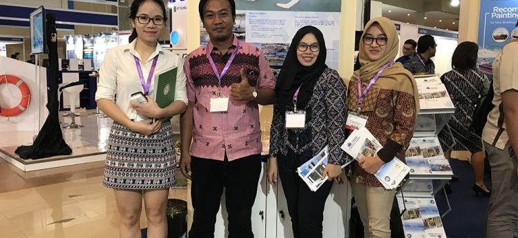 25/07 - 27/07/2016 Nahaviwel tham dự triển lãm vật liệu hàn cắt tại Indonesia