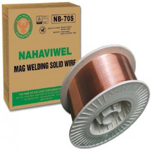 Dây hàn MAG Nahaviwel NB-70S loại 0.9mm