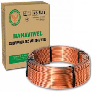 Dây hàn hồ quang chìm Nahaviwel NB EL12 loại 2.4mm (mạ đồng)