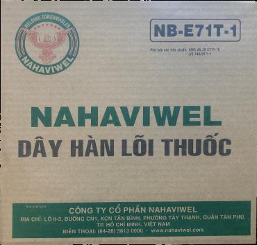 Dây hàn lõi thuốc NB-E71T-1 1.6mm