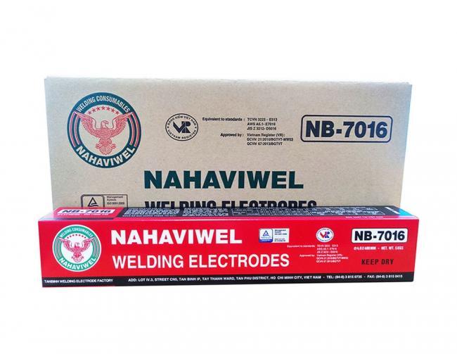 Que hàn điện Nahaviwel NB-7016 loại 2.6 mm