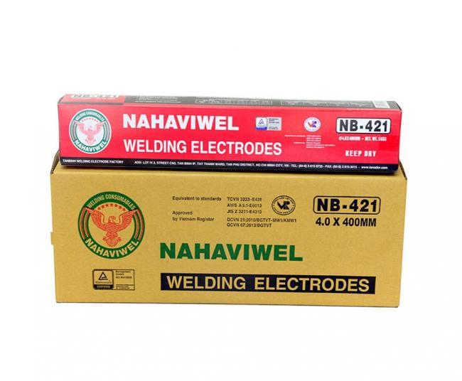 Que hàn điện Nahaviwel NB-421 loại 4.0 mm