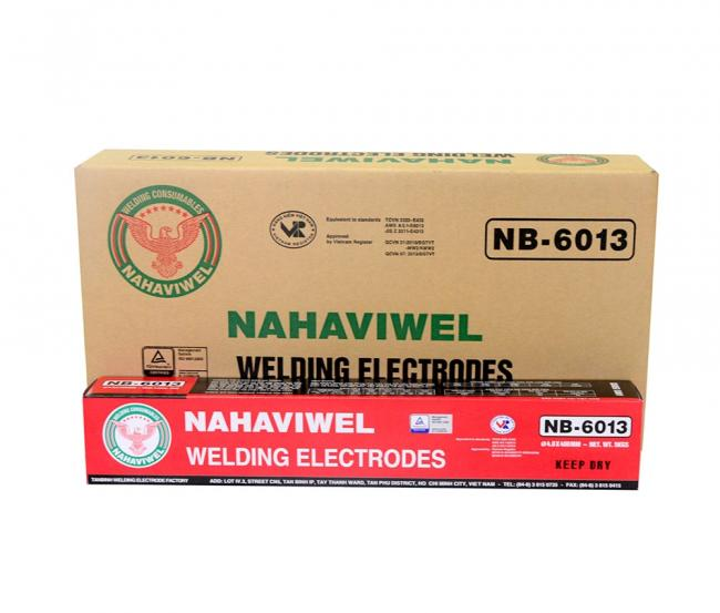 Que hàn điện Nahaviwel NB-6013 loại 5.0 mm