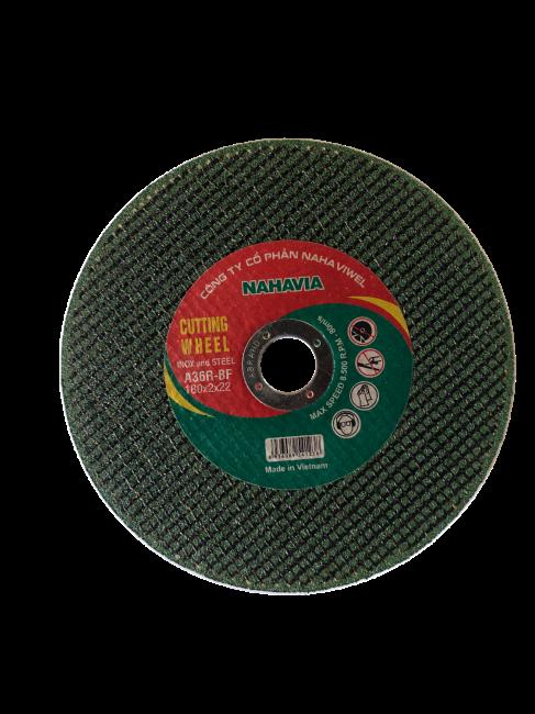 Đá cắt Inox NAHAVIA 180x2x22 - A46R-BF